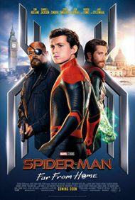 Spider Man Far From Home poster e1587498681487