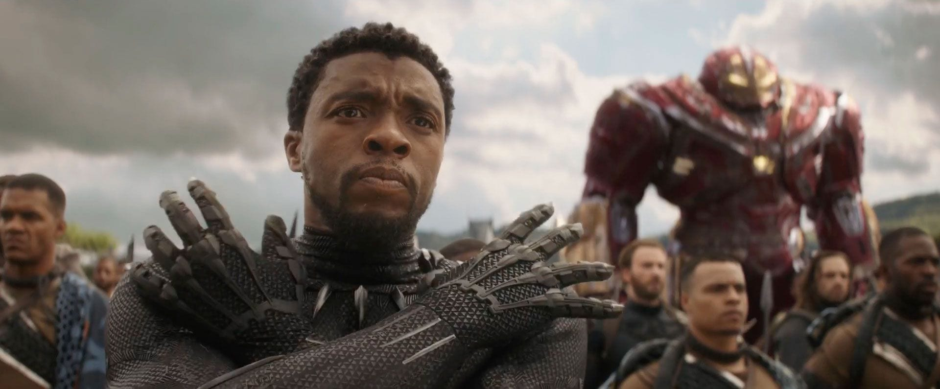 the wakanda scenes in avengers infinity war were shaped by the cast of black panther